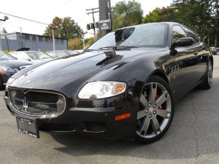 Used 2008 Maserati Quattroporte NAVIGATION~LOW KMS~65KMS~SUNROOF !!! for sale in Burlington, ON