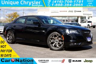 Used 2018 Chrysler 300 S| NAV| LEATHER| PANORAMIC SUNROOF| REAR CAM for sale in Burlington, ON
