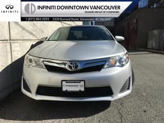 Used 2012 Toyota Camry 4-door Sedan LE for sale in Vancouver, BC