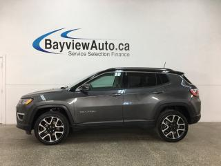 Used 2017 Jeep Compass Limited - REM START! PANOROOF! HTD LTHR! NAV! PWR LIFTGATE! HTD STEERING WHEEL! for sale in Belleville, ON