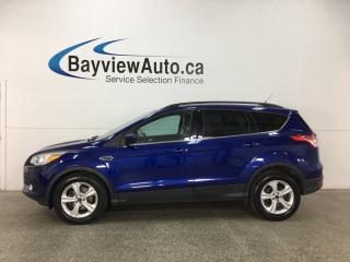 Used 2014 Ford Escape SE - ECOBOOST! CHROMES! KEYPAD! HTD LTHR! NAV! SYNC! PWR LIFTGATE! for sale in Belleville, ON