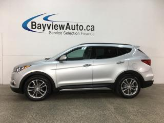 Used 2017 Hyundai Santa Fe Sport 2.0T Limited - PANOROOF! HTD/AC LTHR! NAV! INFINITY! PWR LIFTGATE! RCTA! for sale in Belleville, ON