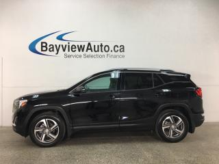 Used 2018 GMC Terrain SLT Diesel - REM STRT!HTD LTHR! NAV! RTA! RE CAM! BOSE! HTD WHEEL! BLUETOOTH! for sale in Belleville, ON