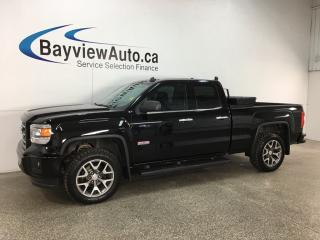 Used 2014 GMC Sierra 1500 - DBL CAB! REM START! HTD LTHR! REVERSE CAM! TOW/HAUL! ON STAR! for sale in Belleville, ON