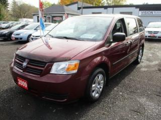 Used 2009 Dodge Grand Caravan FAMILY MOVING SE EDITION 8 PASSENGER 3.3L - V6.. CLOTH INTERIOR.. KEYLESS ENTRY.. BENCH SEATING.. CD/AUX.. for sale in Bradford, ON