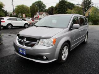 Used 2013 Dodge Grand Caravan FAMILY MOVING CREW EDITION 7 PASSENGER 3.6L - V6.. FULL STOW-N-GO.. TOUCH SCREEN DISPLAY.. BLUETOOTH.. KEYLESS ENTRY.. for sale in Bradford, ON