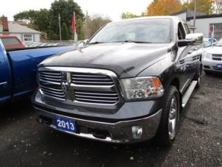 Used 2013 RAM 1500 WORK READY BIG HORN EDITION 5 PASSENGER 5.7L - HEMI.. 4X4.. QUAD CAB.. SHORTY.. HEATED SEATS.. BACK-UP CAMERA.. BLUETOOTH CONNECTION.. for sale in Bradford, ON