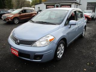 Used 2009 Nissan Versa FUEL EFFICIENT SL MODEL 5 PASSENGER 1.8L - 4 CYL.. CLOTH.. AM/FM/CD PLAYER.. KEYLESS ENTRY.. for sale in Bradford, ON