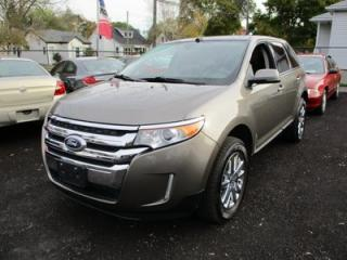Used 2014 Ford Edge LOADED LIMITED EDITION 5 PASSENGER 3.5L - V6.. AWD.. LEATHER.. HEATED SEATS.. NAVIGATION.. DUAL SUNROOF.. BACK-UP CAMERA.. for sale in Bradford, ON