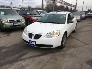 Used 2008 Pontiac G6 SEDAN for sale in Newmarket, ON