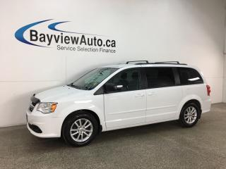Used 2016 Dodge Grand Caravan SE/SXT - ALLOYS! ECO MODE! 3 ZONE CLIMATE! DVD! U-CONNECT! for sale in Belleville, ON