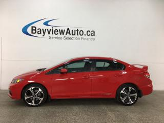 Used 2014 Honda Civic Si - ALLOYS! HTD SEATS! A/C! NAV! HONDA LINK! CRUISE! for sale in Belleville, ON
