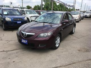 Used 2007 Mazda MAZDA3 i Touring 4-door for sale in Newmarket, ON