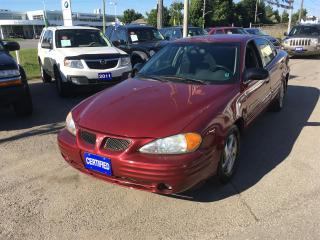Used 2002 Pontiac Grand Am SE Sedan for sale in Newmarket, ON