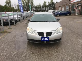 Used 2007 Pontiac G6 SEDAN for sale in Newmarket, ON
