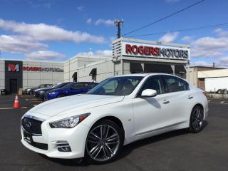 Used 2015 Infiniti Q50 LTD EDITION AWD - NAVI - REVERSE CAM for sale in Oakville, ON