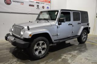 Used 2018 Jeep Wrangler Sahara+démarreur for sale in Sherbrooke, QC