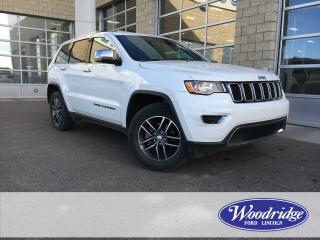 Used 2017 Jeep Grand Cherokee Limited NO ACCIDENTS, 3.6L V6, HEATED LEATHER SEATS for sale in Calgary, AB