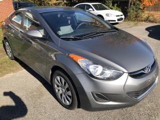 Used 2013 Hyundai Elantra GL Auto with Heated Seats, Bluetooth, Pwr Windows, Keyless Entry and Steering Wheel Controls! for sale in Kemptville, ON