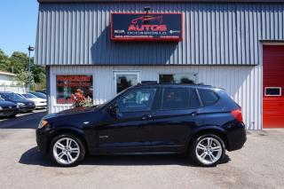 Used 2013 BMW X3 Xdrive35i M Package Xdrive for sale in Lévis, QC