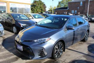 Used 2017 Toyota Corolla SE Sunroof Leather Bluetooth for sale in Brampton, ON