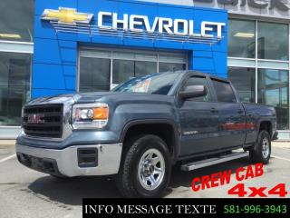 Used 2014 GMC Sierra 1500 5.3l, 4x4, Crew Cab for sale in Ste-Marie, QC