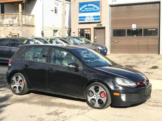 Used 2010 Volkswagen GTI Nav/Manual/ ON SALE NOW for sale in Kitchener, ON