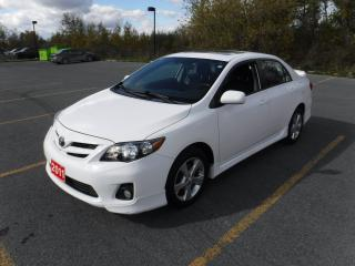 Used 2011 Toyota Corolla S for sale in Cornwall, ON