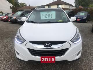 Used 2015 Hyundai Tucson Limited for sale in Hamilton, ON