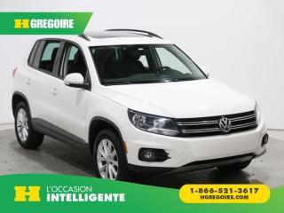 Used 2014 Volkswagen Tiguan COMFORTLINE 4Motion for sale in St-Léonard, QC