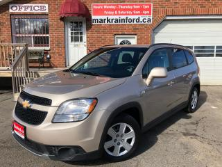 Used 2012 Chevrolet Orlando 1LT 7 Passenger Automatic FWD for sale in Bowmanville, ON