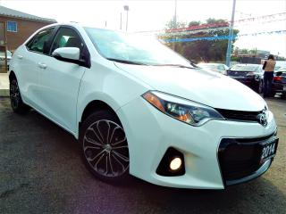 Used 2014 Toyota Corolla S | P.SUNROOF | BACK UP CAM | REMOTE START | 62KM for sale in Kitchener, ON
