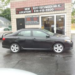 Used 2009 Toyota Corolla XRS for sale in Windsor, ON