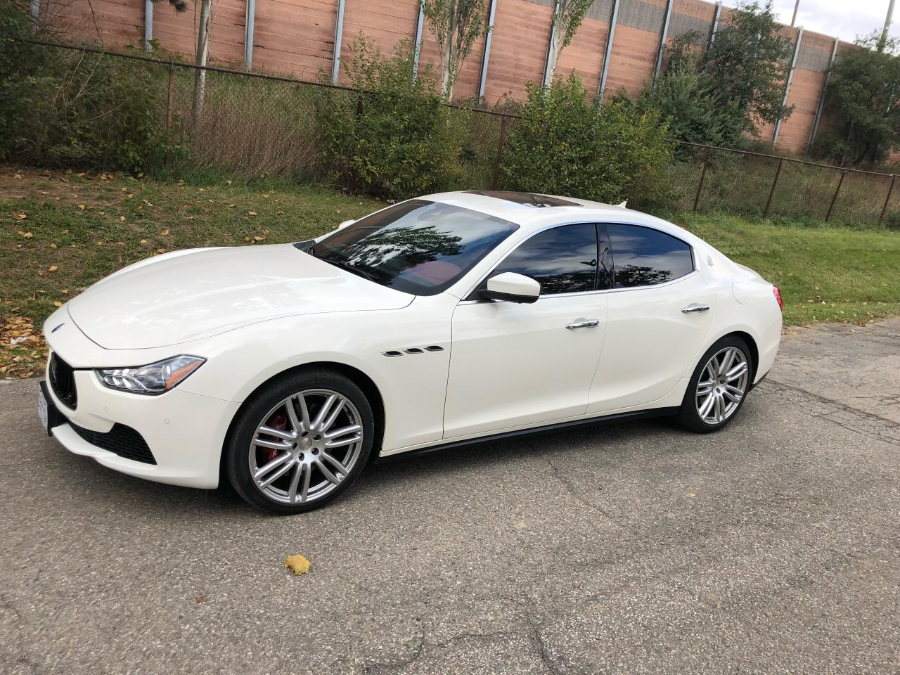 Photo of White 2017 Maserati Ghibli S Q4