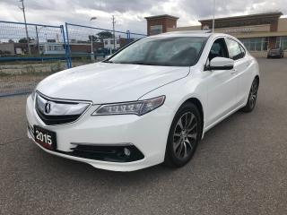 Used 2015 Acura TLX Tech Package NAVI LEATHER BACK UP CAM for sale in BRAMPTON, ON