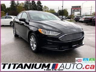 Used 2017 Ford Fusion SE-Camera-Apple Play-Android-Sunroof-Power Seats for sale in London, ON