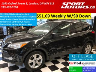 Used 2014 Ford Escape SE+Rust Proofed+GPS+MyFord+Camera+Bluetooth+Sensor for sale in London, ON