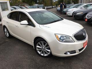 Used 2012 Buick Verano LUXURY/ OEM REMOTE STARTER/ LEATHER/ ALLOYS! for sale in Scarborough, ON