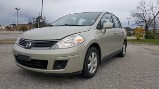 Used 2007 Nissan Versa 1.8 S for sale in Mississauga, ON