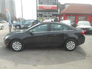 Used 2011 Chevrolet Cruze LS/ CERTIFIED / PWR GROUP / CLEAN / READY TO GO / for sale in Scarborough, ON