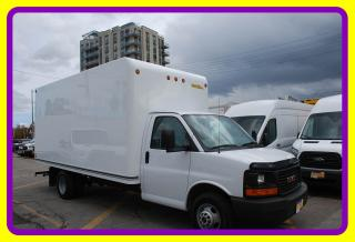 Used 2017 GMC Savana 3500 16' Cube w Ramp, A/C for sale in Woodbridge, ON
