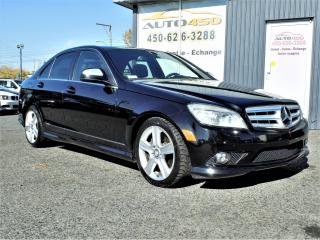 Used 2008 Mercedes-Benz C 300 ***4MATIC,CUIR,TOIT OUVRANT*** for sale in Longueuil, QC