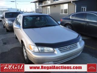 Used 1999 Toyota Camry 4D SEDAN for sale in Calgary, AB