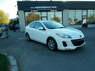 Used 2012 Mazda MAZDA3 GS **BLUETOOTH** for sale in St-Hubert, QC