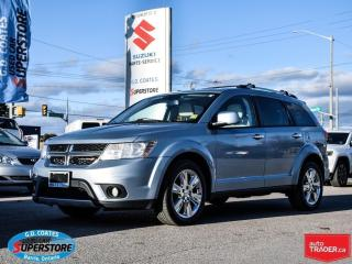 Used 2013 Dodge Journey R/T AWD ~Heated Leather Seats ~Backup Camera for sale in Barrie, ON