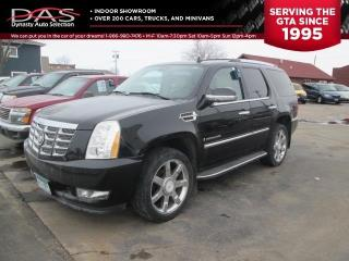 Used 2007 Cadillac Escalade NAVIGATION/LEATHER/SUNROOF/DVD/REAR VIEW CAMERA for sale in North York, ON