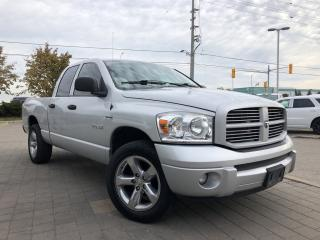 Used 2008 Dodge Ram 1500 4X4*SLT*Quad-Sport*Power DriverS Seat for sale in Mississauga, ON
