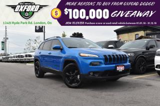 Used 2018 Jeep Cherokee Limited - Low kms, Dealer Maintained, Sunroof for sale in London, ON