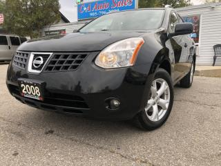 Used 2008 Nissan Rogue AWD 4dr EXTRA CLEAN, ALL WHEEL DRIVE,LEATHER ,MOON for sale in Brampton, ON