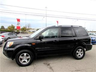 Used 2008 Honda Pilot EX-L 4X4 AWD 8 PASSENGER DVD SUNROOF for sale in Milton, ON